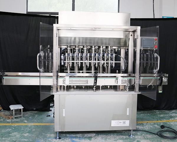 12头液体、膏霜、乳液灌装机
