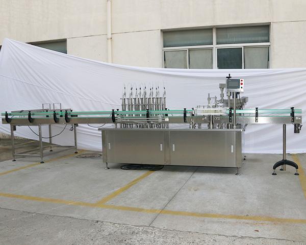 12泵灌装旋盖机