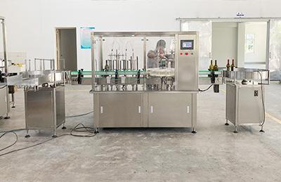 液体灌装机的主体结构及工作原理