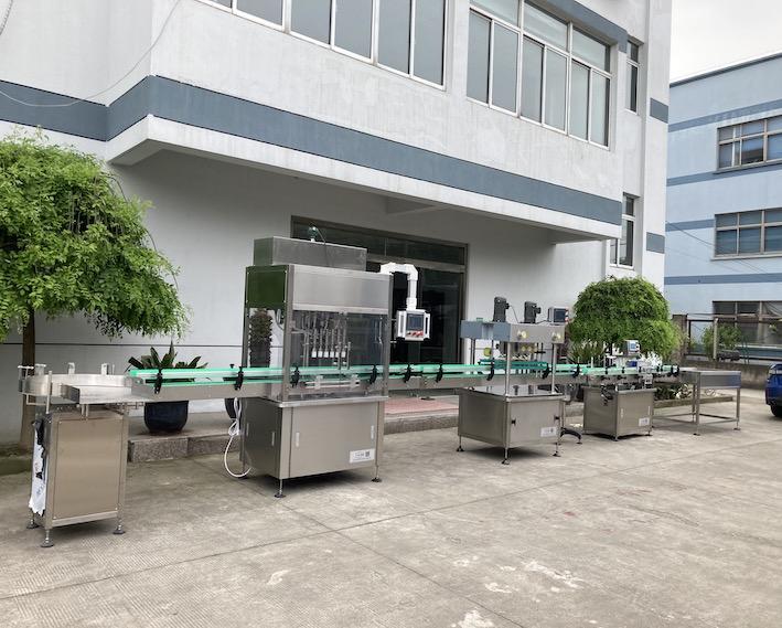 大容量液体灌装生产线